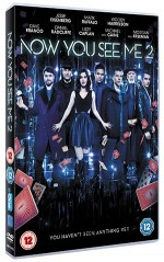 Win a copy of Now You See Me 2 on Blu-Ray