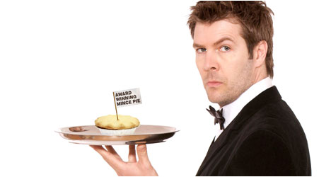 Rhod Gilbert And The Award-Winning Mince Pie – Live DVD Review