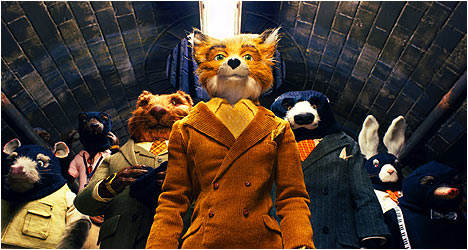 Fantastic Mr. Fox DVD Review