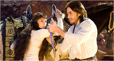 Prince of Persia: The Sands of Time DVD Review