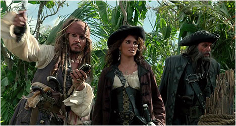 Pirates of the Caribbean: On Stranger Tides DVD Review