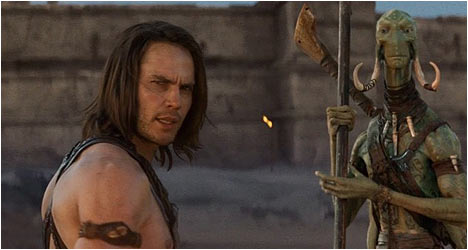 JOHN CARTER BLU-RAY AND DVD TRAILER DVD Review