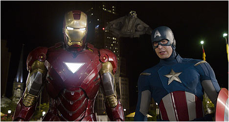 Marvel's THE AVENGERS on Blu-ray & DVD 9/25! DVD Review