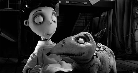 Frankenweenie DVD Review